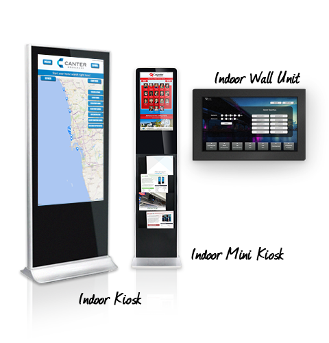 Indoor Touch Kiosk