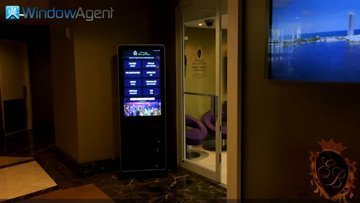 exclusively baronoff realty indoor kiosk installation overview